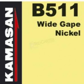 B511 WIDE GAPE NICKEL HOOKS